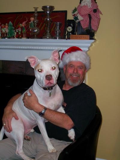 Dale and Maximus Christmas