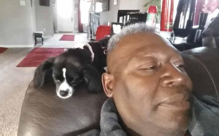 Senior dog is ray of sunshine for retired Vietnam veteran
