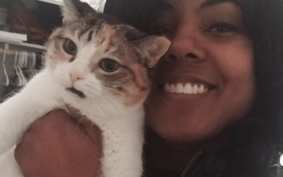Air Force veteran finds cure for loneliness with an adopted senior cat